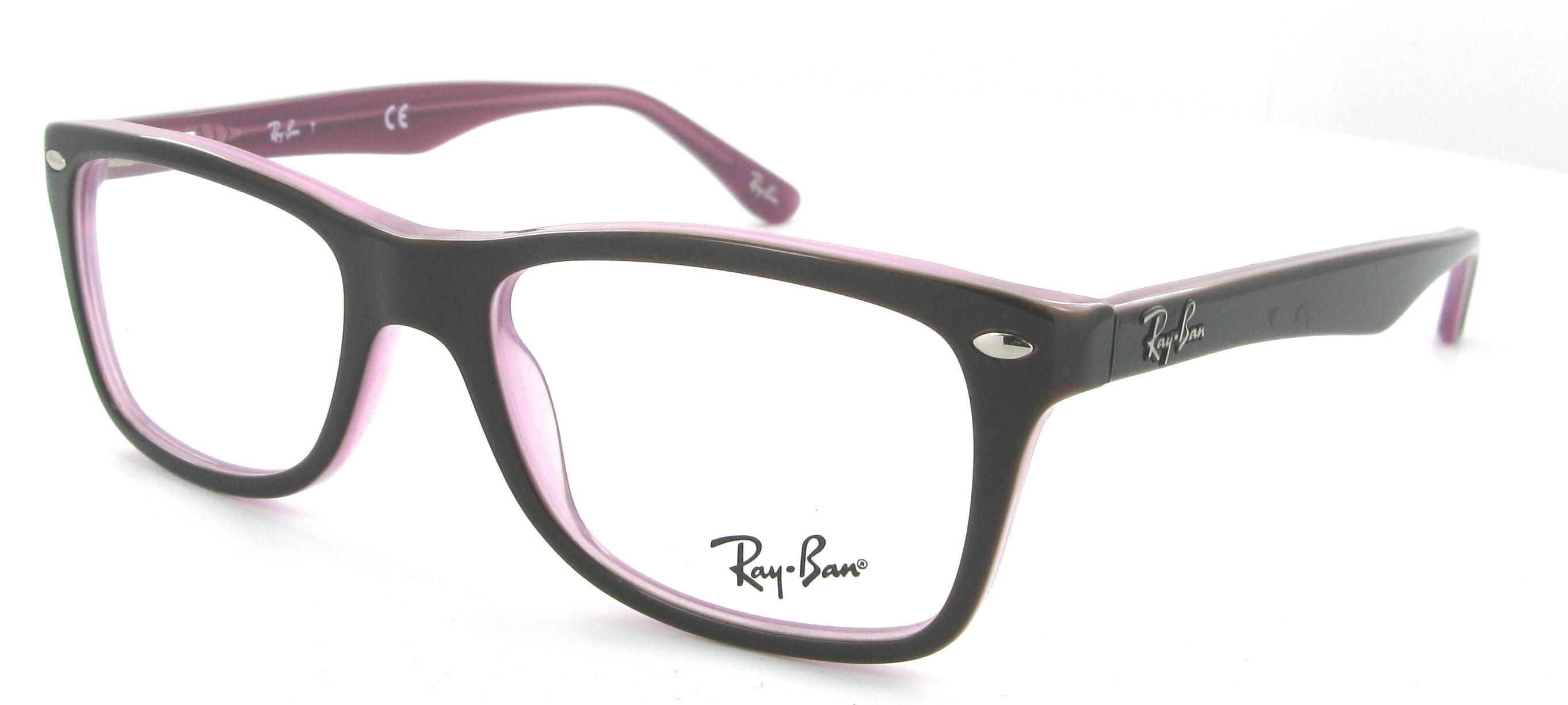 lunette de vue ray ban rose gold